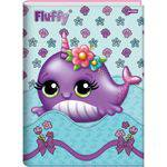 Caderno Brochurao Capa Dura Fluffy 96fls.