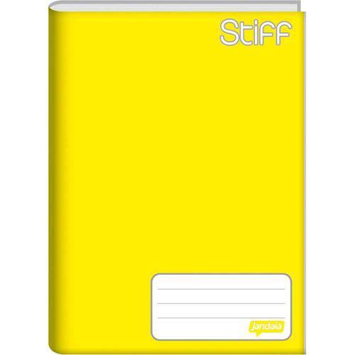 Caderno Brochurao Capa Dura Stiff 48 Folhas Amarelo