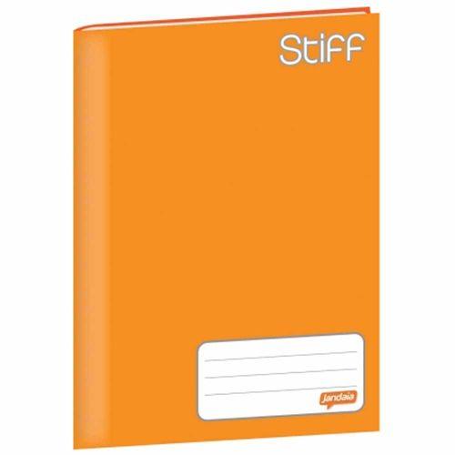 Caderno Brochurão Jandaia Stiff 96 Folhas Capa Dura Laranja 1022683