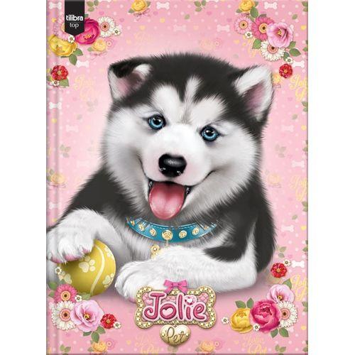 Caderno Brochurão Jolie Pet 96 Folhas - Tilibra 1006544