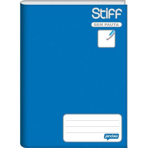 Caderno Brochurao Sem Pauta Stiff 96 Folhas Azul Cd. Jandaia Pct.C/05