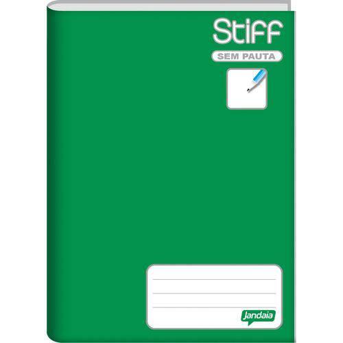 Caderno Brochurao Sem Pauta Stiff 96 Folhas Verde Cd. Jandaia Pct.C/05