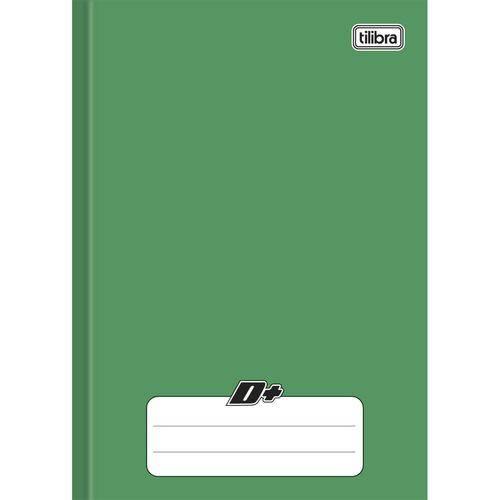 Caderno Brochurinha 1/4 Capa Dura 48 Folhas D+ Tilibra - Verde