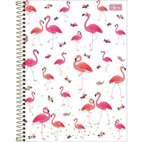 Caderno Capa Dura 10 Matérias Aloha 160 Folhas Pacote com 04 Tilibra
