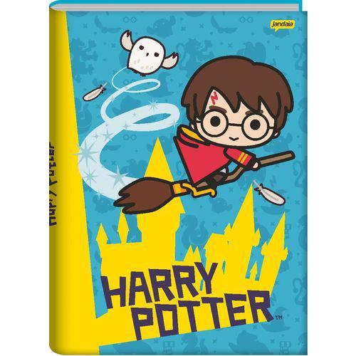 Caderno Capa Dura Brochura Harry Potter 96 Folhas Pacote com 05 Jandaia