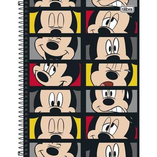 Caderno Capa Dura Universitário Mickey