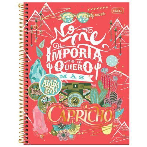 Caderno Capricho 1X1 - 96 Folhas - Tilibra - Mod.02