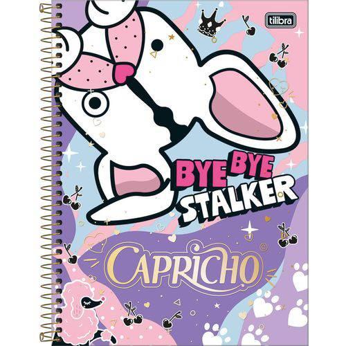 Caderno Capricho 1X1 - 96 Folhas - Tilibra