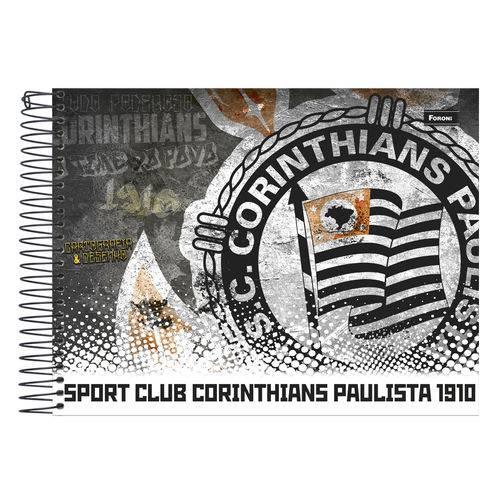 Caderno Cartografia Capa Dura 96 Fls Foroni - Corinthians