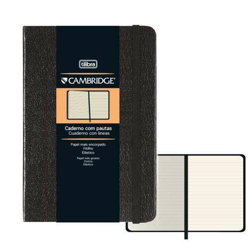 Caderno com Pautas Cambridge Tilibra 80 Folhas 10x14cm