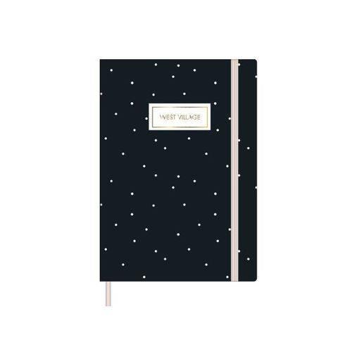 Caderno Costurado Tilibra Sem Pauta West Village - 80 Folhas