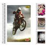 Caderno D Unissex ¼ Capa Flexivel 96 Folhas
