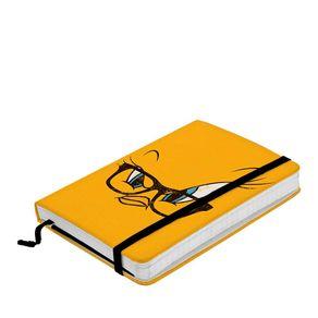 Caderno de Anotação com Elástico Piu Piu Lonney Tunes Hanna Barbera
