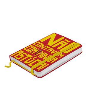 Caderno de Anotação com Elástico Sigam-me os Bons Chapolin Colorado