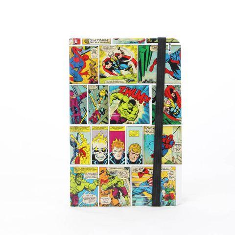 Caderno de Anotação História em Quadrinhos Coloridos