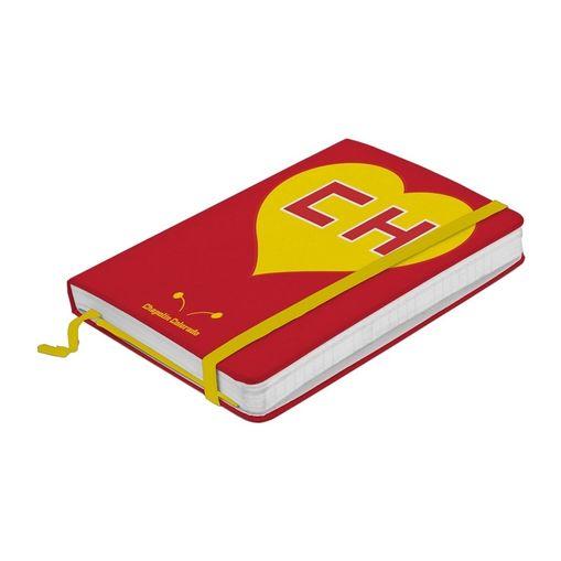 Caderno de Anotações Vermelho 100 Folhas A5 Chapolin Urban