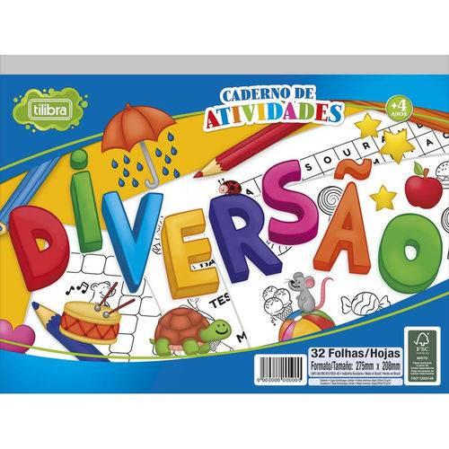 Caderno de Atividades Diversao Academie 32FLS Tilibra
