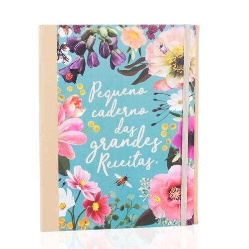 Caderno de Receitas Fichario A5 Jardim Secreto