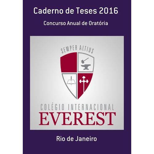 Caderno de Teses 2016