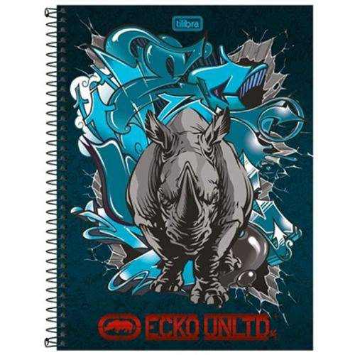 Caderno Ecko Unltd 200 Folhas 10x1 Capas Sortidas - Tilibra