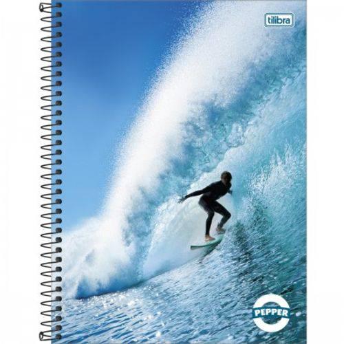 Caderno Espiral 01 Matéria Capa Dura Linha Pepper - 80 Folhas