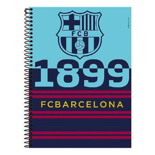 Caderno Espiral Barcelona 96 Folhas - Foroni