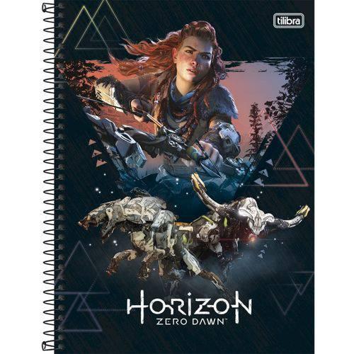 Caderno Espiral Capa Dura 10 Matérias Horizon Zero Dawn 01