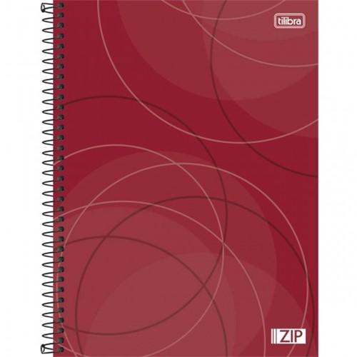 Caderno Espiral Capa Dura Universitário 16 Matérias Zip 320 Folhas - Sortido (Pacote com 2 Unidades)