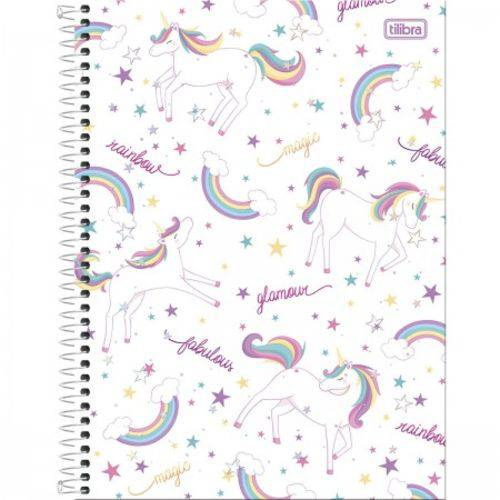 Caderno Espiral Capa Dura Universitário 1 Matéria BLINK - 80 Folhas Mod 04