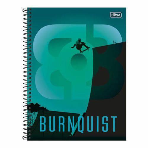 Caderno Espiral Capa Dura Universitário 10 Matérias 200 Folhas Bob Burnquist Tilibra