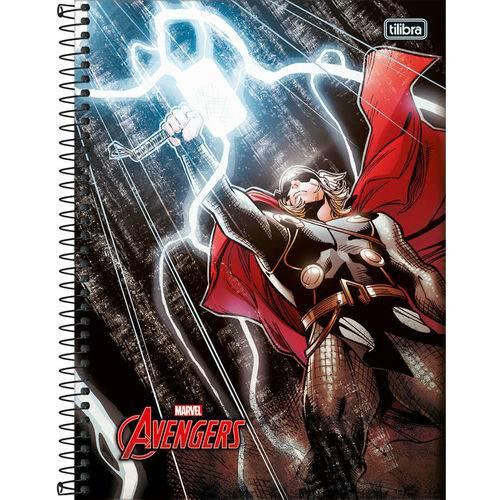 Caderno Espiral Capa Dura Universitário Thor 10m 200 Folhas - Tilibra