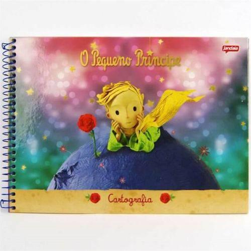Caderno Espiral Cartografia 96 Folhas o Pequeno Principe Jandaia