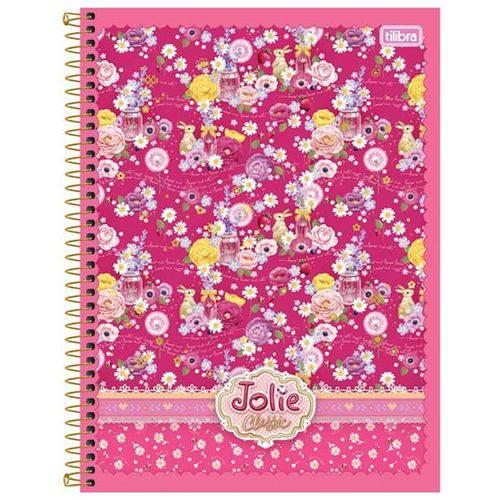 Caderno Espiral Jolie Classic V2 10x1 - 200 Folhas - Tilibra