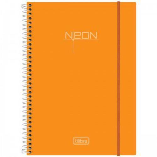 Caderno Espiral Neon 1 Matéria Tilibra