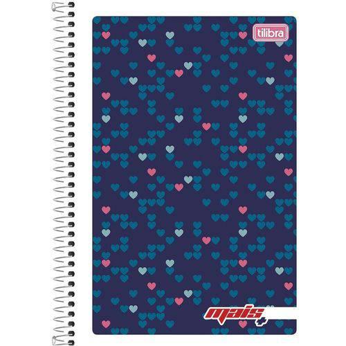 Caderno Espiral Pequeno Flexível Mais+ 48 Folhas com 20 Unidades Tilibra