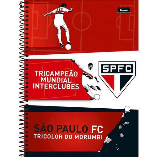 Caderno Espiral São Paulo 96 Folhas - Foroni