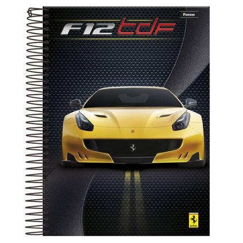 Caderno Universitário 1x1 96 Fls C.D. Foroni - Ferrari 7