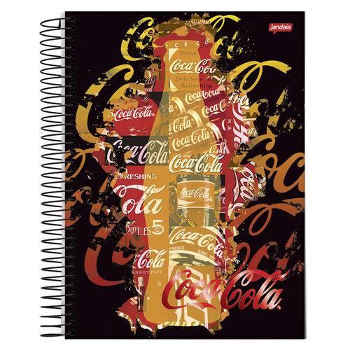 Caderno Espiral Universitário 10x1 200 Fls Capa Dura Jandaia - Coca-Cola Capa 3