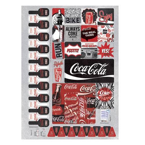 Caderno Universitário 1x1 96 Fls C.D. Jandaia - Coca-Cola 5