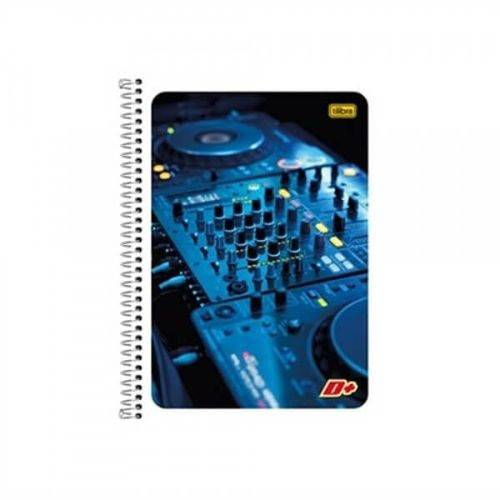 Caderno Espiral Universitario C/flexivel Tilibra Masculino 1 Mat. 96 Folhas Emb. 5un
