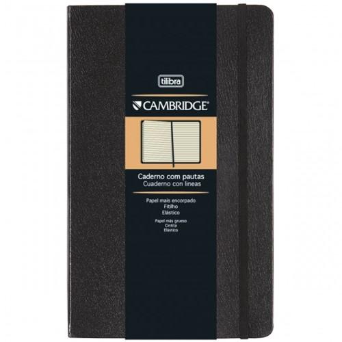 Caderno Executivo com Pauta Costurado Capa Dura Grande Cambridge 80 Folhas