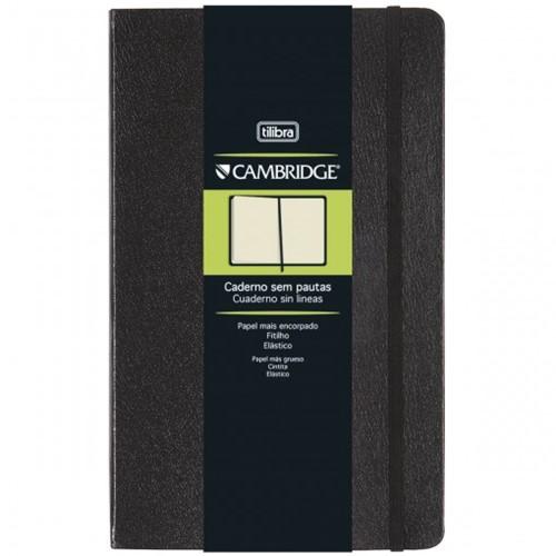 Caderno Executivo Costurado Grande Sem Pauta Cambridge - 80 Folhas