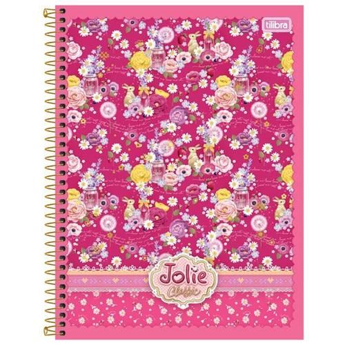 Caderno Jolie Classic 200 Folhas 10x1 Capas Sortidas - Tilibra