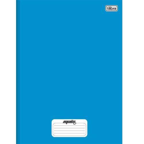 Caderno Linguagem Brochura 48 Folhas Capa Dura 116661 Azul Mais Tilibra