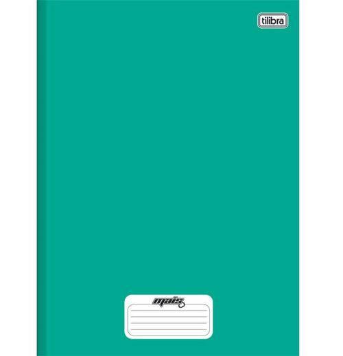 Caderno Linguagem Brochura 96 Folhas Capa Dura 116718 Verde Mais Tilibra