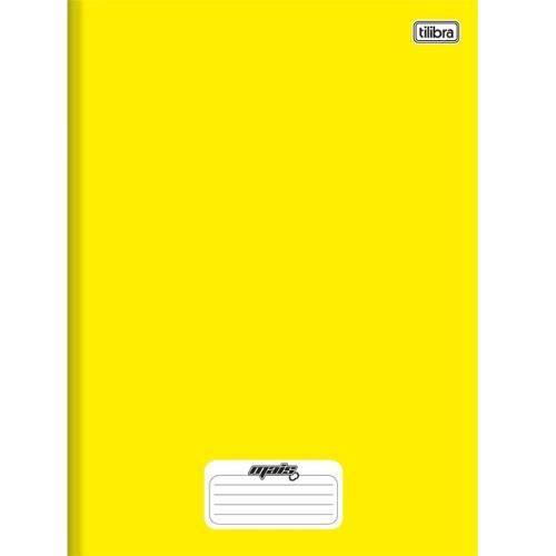 Caderno Linguagem Brochura 96 Folhas Capa Dura 116726 Amarelo Mais Tilibra