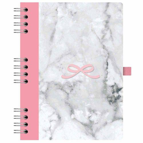 Caderno Pink Stone 177 Mármore Ótima 1025967