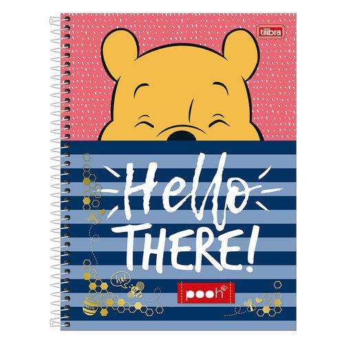 Caderno Pooh - Hello There! - 10 Matérias - Tilibra