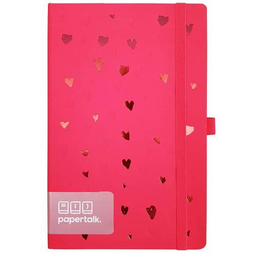 Caderno Romantic Papertalk Maxi Rosa Ótima 1026248