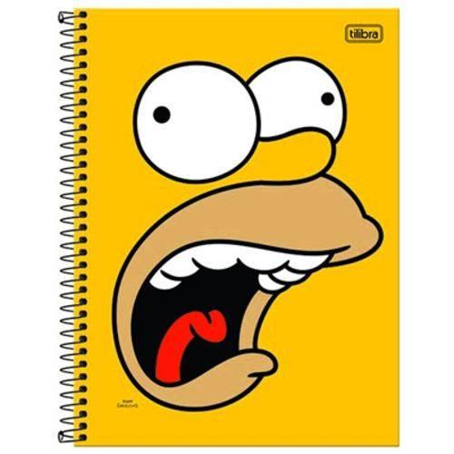 Caderno Simpsons 240 Folhas 12x1 Capas Sortidas - Tilibra